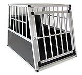 Carparts-Online 29952 Alu Hunde Tier Reise Auto Transport mit Tür Box