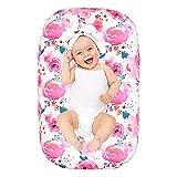 Baby Liege Abdeckung Druck Muster Bett Bettwäsche Abnehmbare Schutzhülle Washable Soft Baby Nest Abdeckung für Neugeborene Kleinkinder