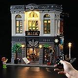 LED-Beleuchtungs-Set für Steinbank – kompatibel mit Lego 10251 Baustein-Modell, enthält nicht das Lego-Set (Fernbedienungsversion)