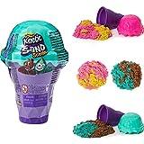Kinetic Sand 6058757 Eiscreme Behälter mit Duftsand 113 g, unterschiedliche Varianten