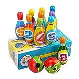 3-6 Jahre alter Junge Mädchen Kleinkind Spielzeug, Kinder Frühes Lernspielzeug Geschenk Aktives Spiel für Kinder Mädchen Jungen Alter 2 3 4 Kleinkind Geburtstag Geschenk Geschenk Party Spiele Bowling