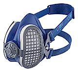 GVS SPR501 Elipse P3 Staub-Atemschutzmaske, inklusive P3 Filter, Größe M/L, Blau