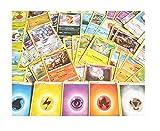 Pokemon Karten 50 Verschiedene 1 Holo Karte Garantiert - Deutsche Karten