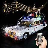 ZHLY LED Licht-Set für Lego Ghost Busters Beleuchtung Lichtset Kompatibel Mit Lego 10274(Lego-Modell Nicht enthalten) (Mit Sound Ferngesteuert)