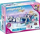 PLAYMOBIL Magic 9474 Schlitten mit Königspaar, Ab 4 Jahren [Exklusiv bei Amazon]