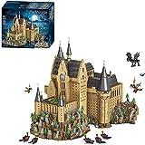 Bausteine Modell 6188Stücke MOC Street View-Blöcke Schloss Montage Bildung Kompatibel mit Lego 71043 Hali Bote Schloss Hogwarts