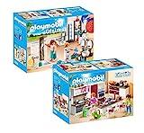 Playmobil 9268-9 Modernes Wohnhaus Set 4 - 2er Set 9268 + 9269