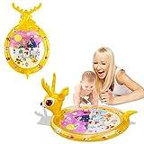 Wassermatte Baby Aufblasbare Wasserspielmatte Tastmatte Bauchzeit für Säuglinge und Kleinkinder, Spielzeug für Baby, Innen und Außen (Deer)