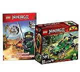 Lego NINJAGO-Set: 71700 Legacy Lloyds Dschungelräuber + Ninjago Rätselspaß für Drachenbändiger