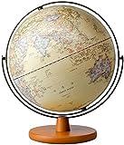 DZX Globus für Kinder mit Licht, 2-in-1 beleuchteter Kinderglobus mit Ständer – pädagogisches Geschenk mit detaillierter Weltkarte und LED-Nachtlicht