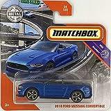 Matchbox 2018 Ford Mustang Convertible MBX Highway 54/100 2020 Short Card