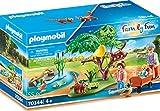 PLAYMOBIL Family Fun 70344 Kleine Pandas im Freigehege, inkl. Figuren und Zubehör, ab 4 Jahren