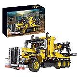 HEID Technik Abschleppwagen Bausteine, Mould King 17011 Technik Abschlepptruck Modellbauset für Kinder, Kran-Spielzeug Kompatibel mit Lego technic - 1250 Telie