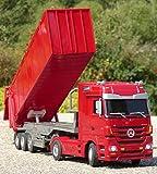 WIM-SHOP RC LKW Mercedes-Benz ACTROS mit Kipp-Anhänger Länge 50cm Ferngesteuert 2,4GHz