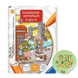 tiptoi Ravensburger Buch   Grundschulwörterbuch Englisch + Kinder ABC Buchstaben Sticker von Collectix