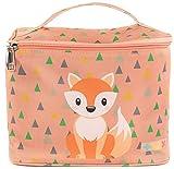 TUX Bag, Tasche für Tonie Box, Alles in Einer Tasche, bis zu 15 Tonies, Tragetasche für Toniebox, Reisetasche, Transporttasche für die Toniebox (Kindergepäck, Fuchs)