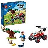 LEGO 60300 City Wildlife Tierrettungs-Quad Geländewagen, Spielzeug-Quad ab 5 Jahre