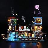 LIGHTAILING Licht-Set Für (Ninjago City Hafen) Modell - LED Licht-Set Kompatibel Mit Lego 70657(Modell Nicht Enthalten)