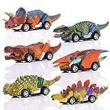 ATOPDREAM Geschenke für 2-6 Jährige Jungen, Dinosaurier Spielzeug ab 2 3 4 5 Jahre Kinder Spielzeug Jungen Geschenk Mädchen 2-6 Jahre Kleine Geschenke für Kinder Auto Spielzeug Dino Spielzeug