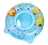MARRYME Baby Schwimmring Aufblasbarer Schwimmreifen mit Armlehnen Kleinkind Schwimmsitz Schwimmtrainer (Blau, OneSize)