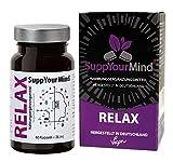 SuppYourMind RELAX | pflanzliche Kapseln mit Ashwagandha und 5-HTP | vegane Kapselhülle
