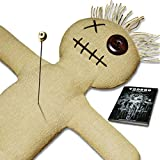 Mojo Doll Raw Set - Voodoo Puppe mit Voodoo Nadel und Ritual-Anleitung