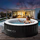 CosySpa aufblasbarer Whirlpool - Seifenblase Jacuzzi für den Außenbereich - 2-6 Personen Kapazität (2-4 Personen)