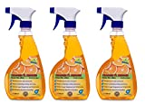 KaiserRein Orangenreiniger 3 x 0,5 L Konzentrat Allzweckreiniger Multi Talent Premium Orangenölreiniger Orangenöl-reiniger