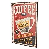 Keyhome Schmuckkästchen, Dekoration aus MDF-Kiste, Elegante Geschenkidee Coffee