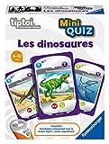 Ravensburger tiptoi® Mini Quiz Interaktives Spiel - Die Dinosaurier - Elektronische Lernspiele ohne Bildschirm - Kinder ab 6 Jahren - 00 085