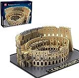 Colosseum Bausteine 22002, iVansa 6466 Teile Groß Römisches Colosseum Architektur Bausteine MOC Klemmbausteine Bauset Kompatibel mit Lego 10276