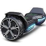 Gyroor Hoverboard Offroad Hoverboard für Kinder 6.5'' G5 Self Balancing Scooter mit Bluetooth-Musiklautsprecher & LED Lichter Premium Hoverboard für Jugendliche und Erwachsene von 20-120kg 600W