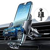 VANMASS Kfz Handyhalterung Auto Lüftung [Hält Bombenfest] mit Stabilem Lüftungshaken 360°Drehbar 100% Silikonschutz Smartphone Halterung Auto für Alle Handys & Autos iPhone 11 12 Samsung Huawei Xiaomi