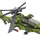 TRCS Technik Hubschrauber Bausteine, Militär Helikopter Flugzeug für SWAT Polizei, 538 Teile Klemmbausteine Kompatibel mit Lego Technic