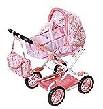 Baby Annabell Deluxe Kinderwagen für 43cm Puppe - Leicht für Kleine Hände, Kreatives Spiel fördert Empathie & Soziale Fähigkeiten, für Kleinkinder ab 3 Jahren - Inklusive Wickeltasche & Einkaufskorb