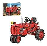 CDXZRZYH Technics Car Set Kompatibel mit Lego Technik, 302 stücke landwirtschaftliche Traktor Auto Bauernhof LKW-Modell Bausteine für Erwachsene und Kinder (Color : 7070)