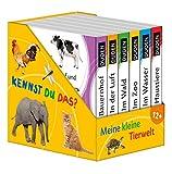 Kennst du das? Meine kleine Tierwelt (Würfel): ab 12 Monaten (Pappbilderbuch Bücher-Würfel, Band 13)