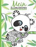 Mein allerliebstes Mandala Malbuch: 50 wunderschöne Tier-Mandalas für Kinder ab 6 Jahren zum Ausmalen und Entspannen.