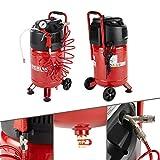 AREBOS Druckluft Kompressor Luftkompressor 1500W | 30L | 10 bar | Stehend | inkl. 13-tlg. Zubehör | 2 Schnellanschlusskupplungen | Wartungsarm | Abschaltautomatik | Stabile Räder