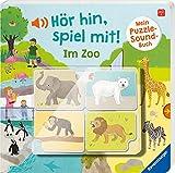 Hör hin, spiel mit! Mein Puzzle-Soundbuch: Im Zoo