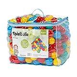 Knorrtoys 56783 - Bälleset ca. Ø6 cm - 250 Balls/Colorful/ in der Tasche - ohne gefährliche Weichmacher - TÜV Zertifiziert