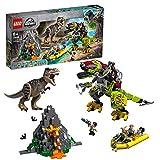 LEGOJurassicWorld 75938 T. Rex vs. Dino-Mech, Bauset