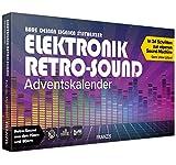 FRANZIS 67176 - Elektronik Retro-Sound Adventskalender 2020 – in 24 Schritten einen Synthesizer mit Retro-Sound aus den 70ern und 80ern bauen, empfohlen ab 14 Jahren