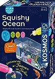 KOSMOS 654238 Fun Science - Squishy Ocean, Erschaffe eine bunte Unterwasserwelt, Experimente mit Formen und Farben, Deko-Aquarium-Becken mit Glibber-Masse, Experimentier-Set für Kinder ab 8 - 12 Jahre