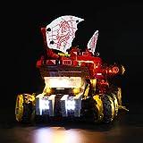 LIGHTAILING Licht-Set Für (Ninjago Wüstensegler) Modell - LED Licht-Set Kompatibel Mit Lego 70677(Modell Nicht Enthalten)