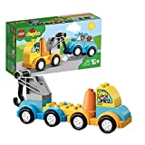 LEGO 10883 DUPLO Mein erster Abschleppwagen, Bauset mit Spielzeugauto für Jungen und Mädchen im Alter von 1,5 Jahren