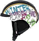 Casco Mini PRO 2 Kinder Fahrrad-/Skihelm Weiss/WinterWonderland 52-56cm