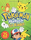 Pokemon Malbuch Für Kinder: Malbuch Mit Wunderbaren Bildern Für Kinder