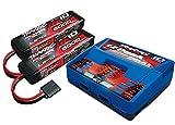 Traxxas 2990 Innen schwarz, blau, rot - Ladegerät (innen, Lithium-Polymer, Nickel-Metallhydrid, Lithium-Polymer, 500 – 500 mA, 100 – 240 V, Schwarz, Blau, Rot)