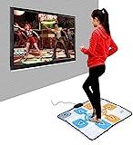 LJXiioo -Tanz-Matten, Doppel Person Anti-Rutsch-Tanz-Tanzen-Pad Blanket Teppich für Nintendo Wii Konsole Spiel für Erwachsene Kinder